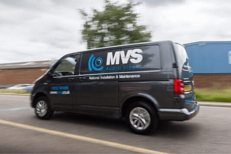 AV installations and maintenance locations covered by MVS