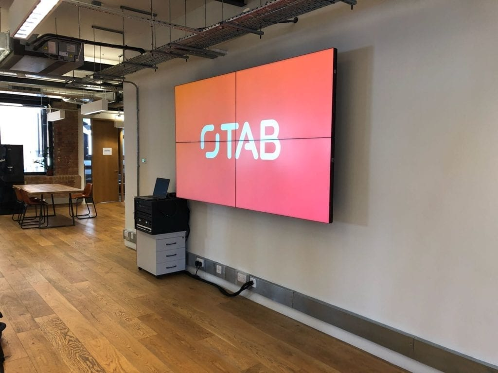 Video Wall - The App Business - London