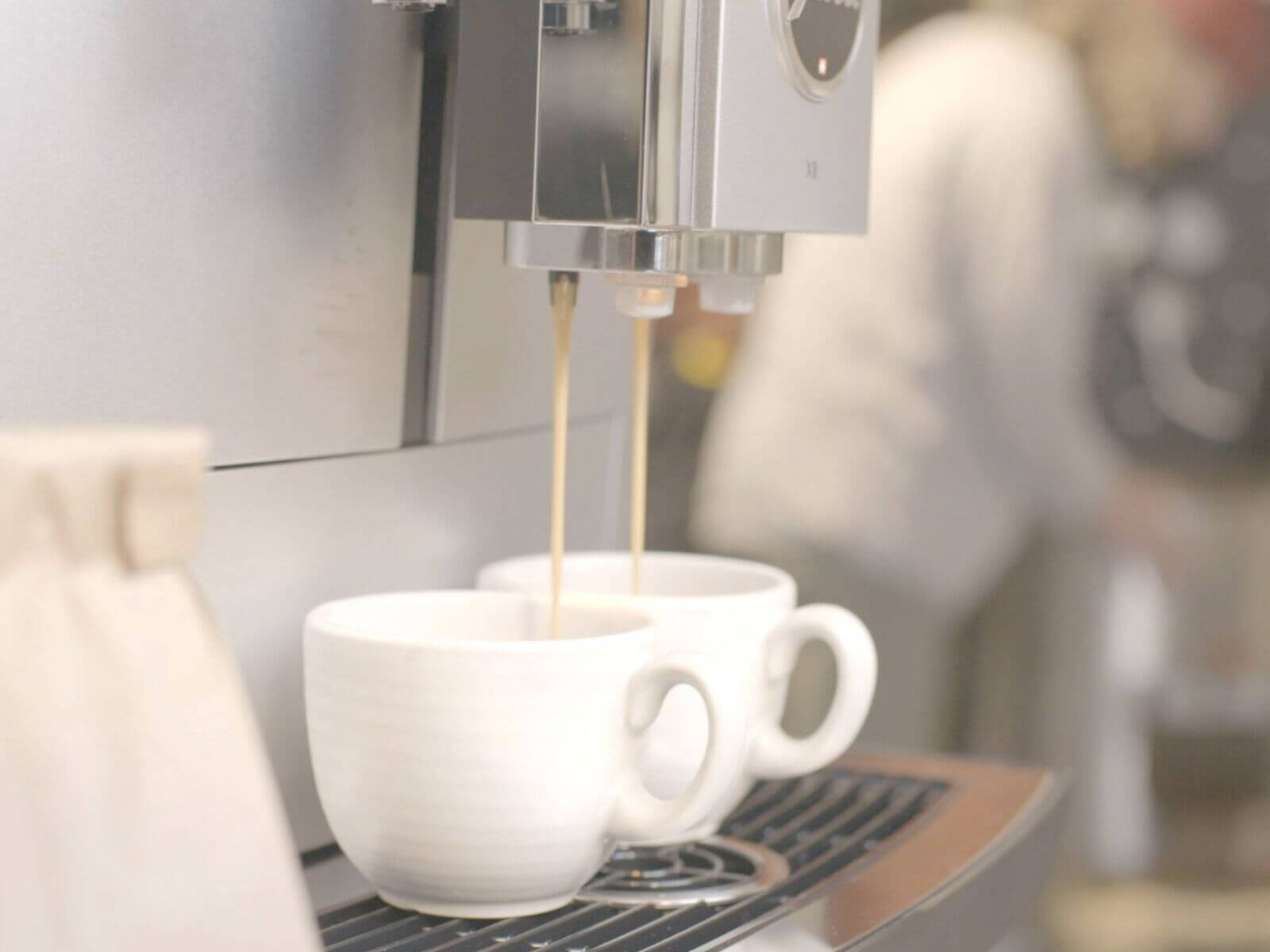 Perfectly brewed business coffee