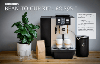 Jura bean to cup offer