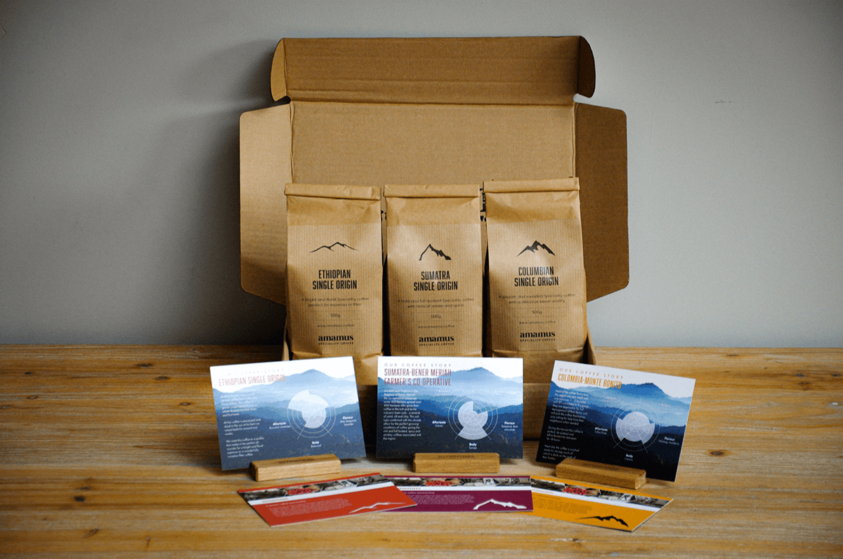 Filter coffee packages