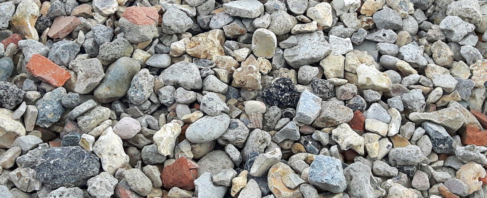 Shingle at Canford Recycling Centre