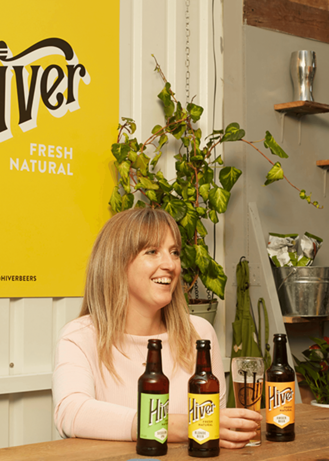 Hannah Rhodes from Hiver Beers